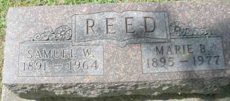 REED, SAMUEL W. - Montgomery County, Ohio | SAMUEL W. REED - Ohio Gravestone Photos