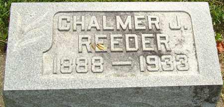 REEDER, CHALMER J - Montgomery County, Ohio   CHALMER J REEDER - Ohio Gravestone Photos