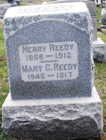REEDY, HENRY - Montgomery County, Ohio | HENRY REEDY - Ohio Gravestone Photos