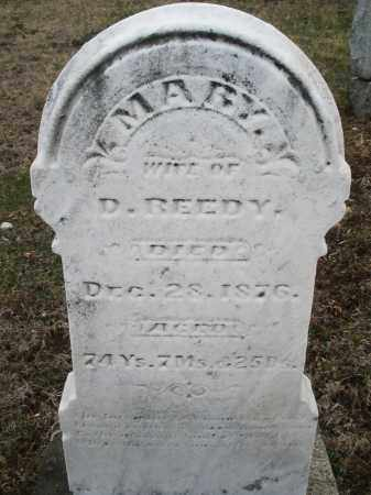 REEDY, MARY - Montgomery County, Ohio | MARY REEDY - Ohio Gravestone Photos