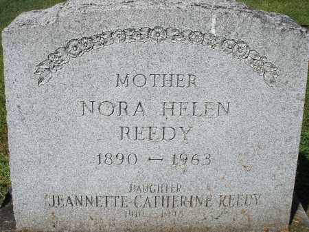 REEDY, JEANNETTE CATHERINE - Montgomery County, Ohio | JEANNETTE CATHERINE REEDY - Ohio Gravestone Photos