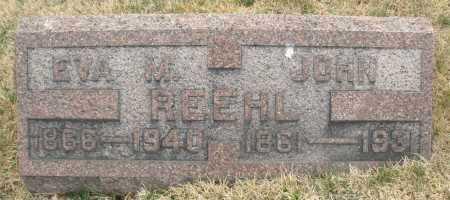 REEHL, JOHN - Montgomery County, Ohio | JOHN REEHL - Ohio Gravestone Photos