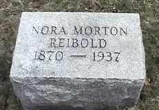 REIBOLD, NORA - Montgomery County, Ohio | NORA REIBOLD - Ohio Gravestone Photos