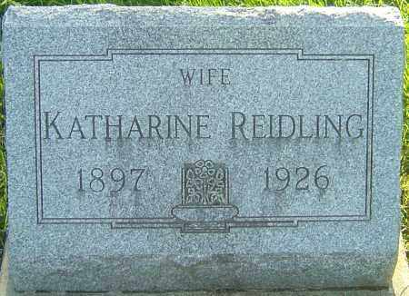 BOUSIER REIDLING, KATHARINE - Montgomery County, Ohio | KATHARINE BOUSIER REIDLING - Ohio Gravestone Photos