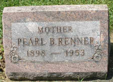 RENNER, PEARL B. - Montgomery County, Ohio   PEARL B. RENNER - Ohio Gravestone Photos