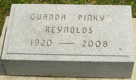 "CARTER REYNOLDS, GUANDA ""PINKY"" - Montgomery County, Ohio 