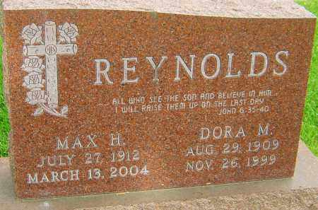 REYNOLDS, MAX H - Montgomery County, Ohio | MAX H REYNOLDS - Ohio Gravestone Photos