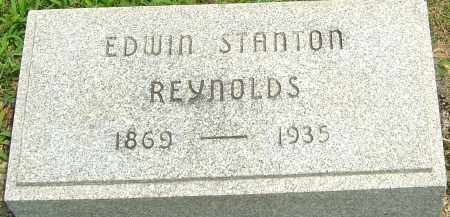 REYNOLDS SR., EDWIN STANTON - Montgomery County, Ohio | EDWIN STANTON REYNOLDS SR. - Ohio Gravestone Photos