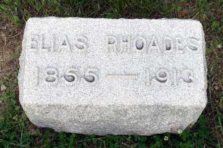 RHOADES, ELIAS - Montgomery County, Ohio | ELIAS RHOADES - Ohio Gravestone Photos