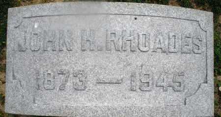 RHOADES, JOHN H. - Montgomery County, Ohio | JOHN H. RHOADES - Ohio Gravestone Photos