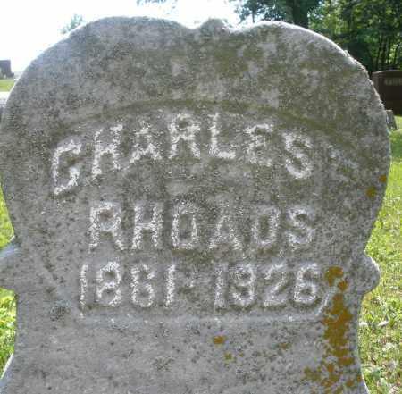 RHOADS, CHARLES - Montgomery County, Ohio   CHARLES RHOADS - Ohio Gravestone Photos