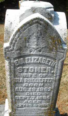 RHODEFFER, EVA ELIZABETH - Montgomery County, Ohio | EVA ELIZABETH RHODEFFER - Ohio Gravestone Photos