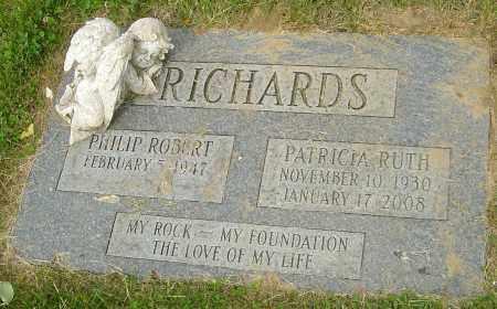 RICHARDS, PATRICIA RUTH - Montgomery County, Ohio   PATRICIA RUTH RICHARDS - Ohio Gravestone Photos