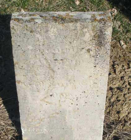 RIDENOUR, AWARTA - Montgomery County, Ohio   AWARTA RIDENOUR - Ohio Gravestone Photos