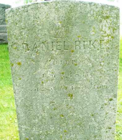 RIKE, DANIEL - Montgomery County, Ohio | DANIEL RIKE - Ohio Gravestone Photos