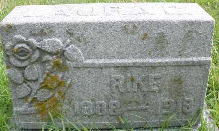 RIKE, LAURA - Montgomery County, Ohio | LAURA RIKE - Ohio Gravestone Photos