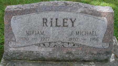 RILEY, MIRIAM - Montgomery County, Ohio | MIRIAM RILEY - Ohio Gravestone Photos