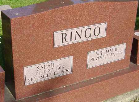 RINGO, SARAH L - Montgomery County, Ohio   SARAH L RINGO - Ohio Gravestone Photos
