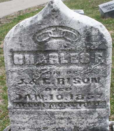 RISON, CHARLES - Montgomery County, Ohio | CHARLES RISON - Ohio Gravestone Photos