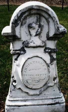 RITTY, CHRISTIANA C. - Montgomery County, Ohio | CHRISTIANA C. RITTY - Ohio Gravestone Photos