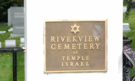 RIVERSIDE OF TEMPLE ISRAEL, ENTRANCE - Montgomery County, Ohio | ENTRANCE RIVERSIDE OF TEMPLE ISRAEL - Ohio Gravestone Photos