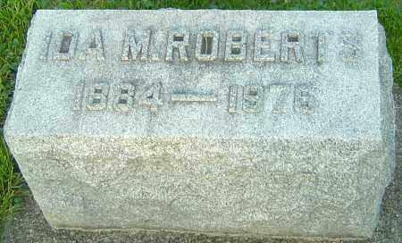 ROBERTS, IDA M - Montgomery County, Ohio | IDA M ROBERTS - Ohio Gravestone Photos