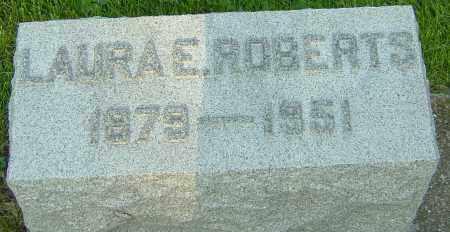 ROBERTS, LAURA E - Montgomery County, Ohio | LAURA E ROBERTS - Ohio Gravestone Photos