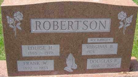 ROBERTSON, DOUGLAS R - Montgomery County, Ohio | DOUGLAS R ROBERTSON - Ohio Gravestone Photos