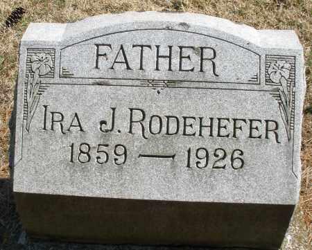 RODEHEFER, IRA J. - Montgomery County, Ohio | IRA J. RODEHEFER - Ohio Gravestone Photos