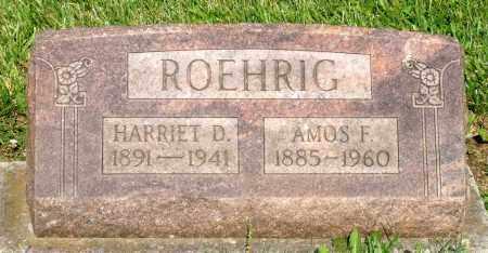 ROEHRIG, AMOS F. - Montgomery County, Ohio | AMOS F. ROEHRIG - Ohio Gravestone Photos