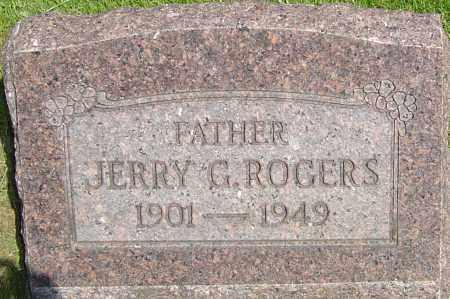 ROGERS, JERRY G - Montgomery County, Ohio | JERRY G ROGERS - Ohio Gravestone Photos