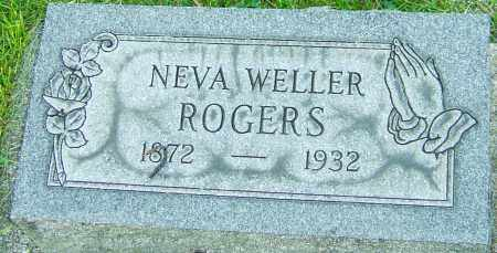ROGERS, NEVA - Montgomery County, Ohio | NEVA ROGERS - Ohio Gravestone Photos