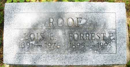 ROOF, LOIS E. - Montgomery County, Ohio | LOIS E. ROOF - Ohio Gravestone Photos