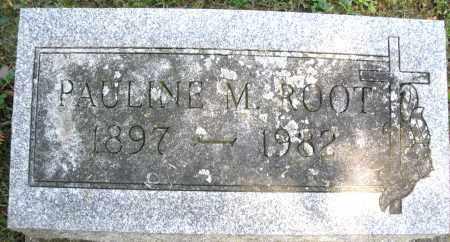 ROOT, PAULINE M. - Montgomery County, Ohio   PAULINE M. ROOT - Ohio Gravestone Photos