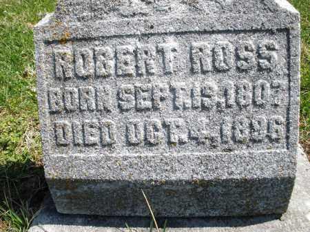 ROSS, ROBERT - Montgomery County, Ohio | ROBERT ROSS - Ohio Gravestone Photos