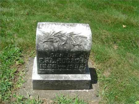 ROSZELL, ERNEST WILLIAM - Montgomery County, Ohio | ERNEST WILLIAM ROSZELL - Ohio Gravestone Photos