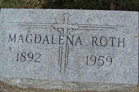 ROTH, MAGDALENA - Montgomery County, Ohio   MAGDALENA ROTH - Ohio Gravestone Photos