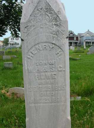 ROWE, HENRY H. - Montgomery County, Ohio | HENRY H. ROWE - Ohio Gravestone Photos