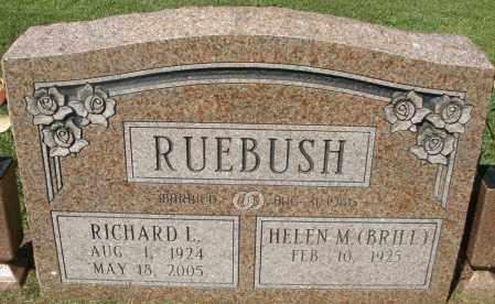 RUEBUSH, RICHARD L. - Montgomery County, Ohio | RICHARD L. RUEBUSH - Ohio Gravestone Photos
