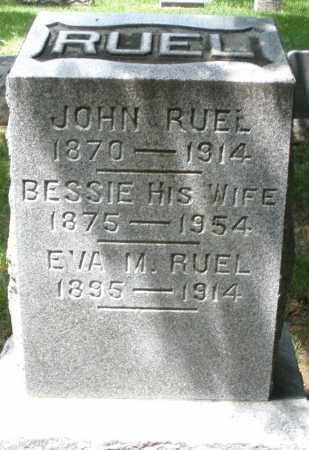 RUEL, BESSIE - Montgomery County, Ohio | BESSIE RUEL - Ohio Gravestone Photos