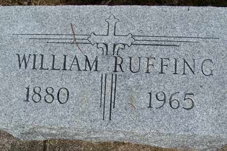 RUFFING, WILLIAM - Montgomery County, Ohio | WILLIAM RUFFING - Ohio Gravestone Photos