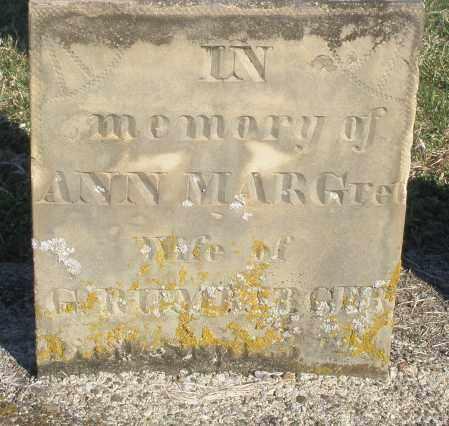 RUMBARGER, ANN MARGARET - Montgomery County, Ohio | ANN MARGARET RUMBARGER - Ohio Gravestone Photos