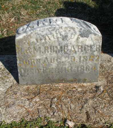 RUMBARGER, CANDES V. - Montgomery County, Ohio | CANDES V. RUMBARGER - Ohio Gravestone Photos