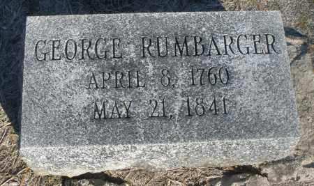 RUMBARGER, GEORGE - Montgomery County, Ohio | GEORGE RUMBARGER - Ohio Gravestone Photos