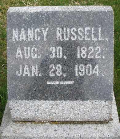 RUSSELL, NANCY - Montgomery County, Ohio   NANCY RUSSELL - Ohio Gravestone Photos