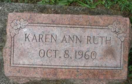 RUTH, KAREN ANN - Montgomery County, Ohio | KAREN ANN RUTH - Ohio Gravestone Photos
