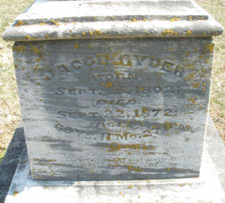 RYDER, JACOB - Montgomery County, Ohio | JACOB RYDER - Ohio Gravestone Photos