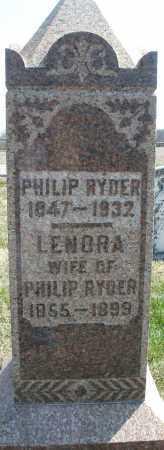 RYDER, LENORA - Montgomery County, Ohio | LENORA RYDER - Ohio Gravestone Photos