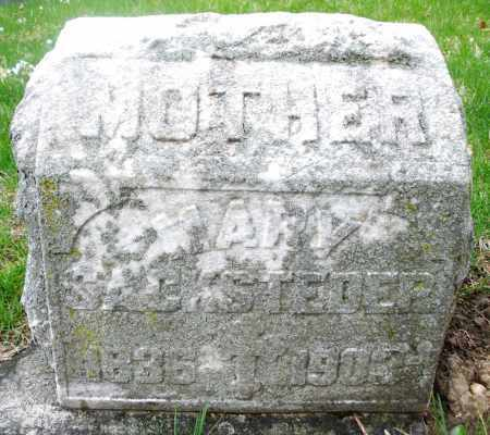 SACKSTEDER, MARY - Montgomery County, Ohio | MARY SACKSTEDER - Ohio Gravestone Photos