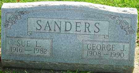 SANDERS, SUE L - Montgomery County, Ohio | SUE L SANDERS - Ohio Gravestone Photos